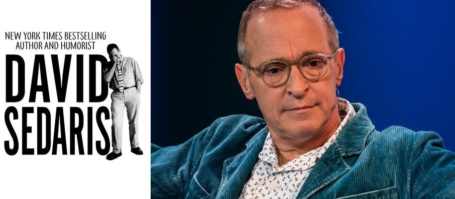 David Sedaris at Andrew Jackson Hall