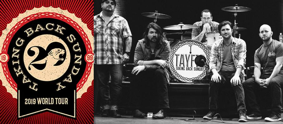 Taking Back Sunday at Marathon Music Works