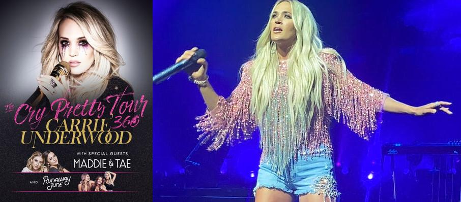 Carrie Underwood at Bridgestone Arena