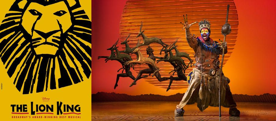 The Lion King at Andrew Jackson Hall