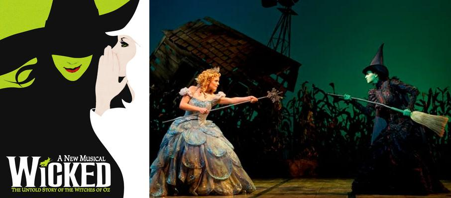 Wicked at Andrew Jackson Hall