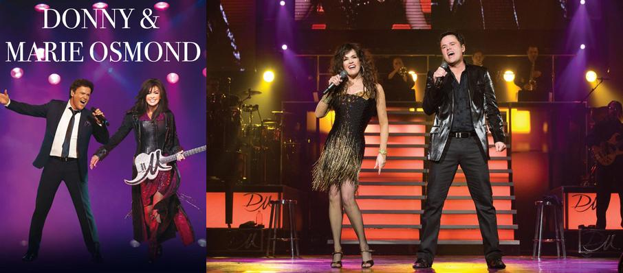 Donny and Marie Osmond at Ryman Auditorium