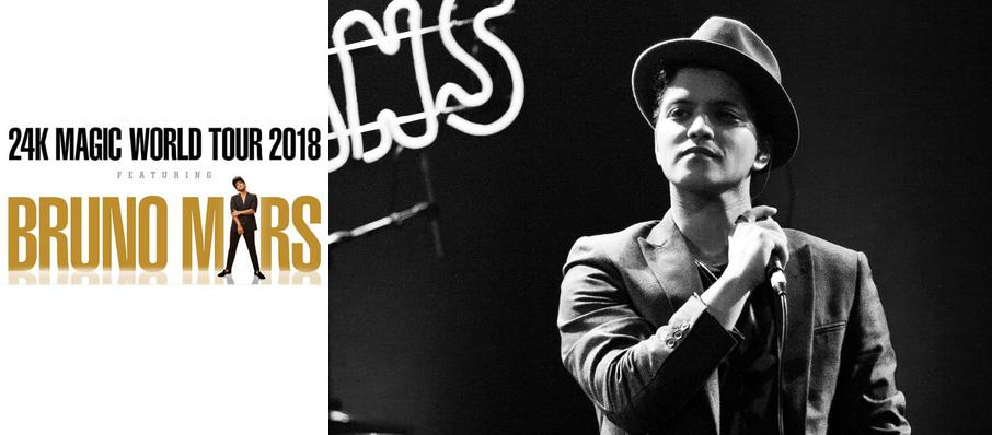 Bruno Mars at Bridgestone Arena