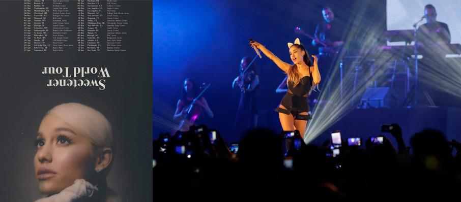 Ariana Grande at Bridgestone Arena