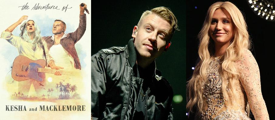 Kesha and Macklemore at Bridgestone Arena