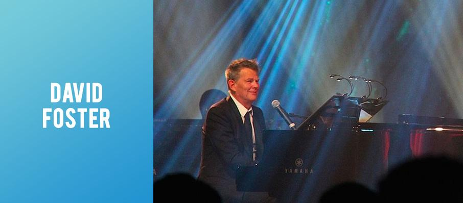 David Foster at Schermerhorn Symphony Center