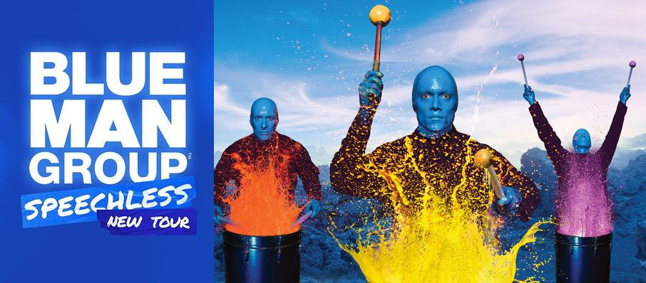Blue Man Group at Andrew Jackson Hall