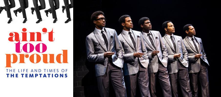 Ain't Too Proud - The Life and Times of the Temptations at Andrew Jackson Hall