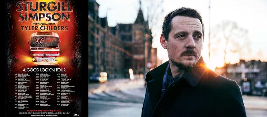 Sturgill Simpson With Tyler Childers at Bridgestone Arena