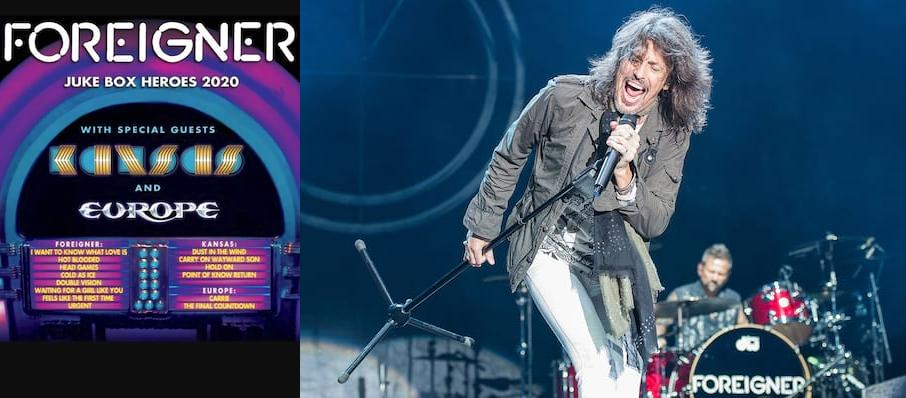 Foreigner with Kansas at Ascend Amphitheater
