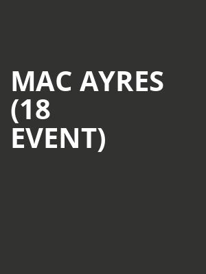 Mac Ayres (18+ Event) at Exit In