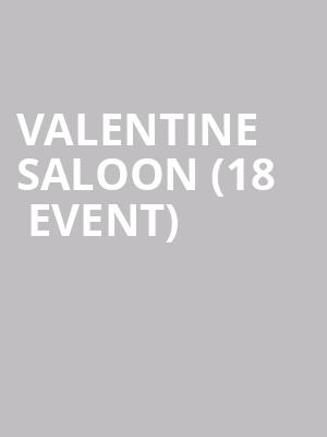 83d8e35792c1 ... Valentine Saloon (18+ Event) at Mercy Lounge