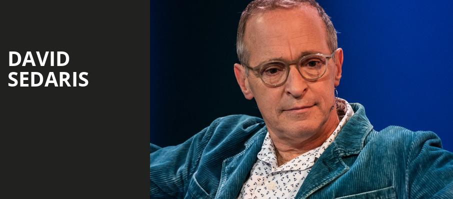 David Sedaris, Andrew Jackson Hall, Nashville