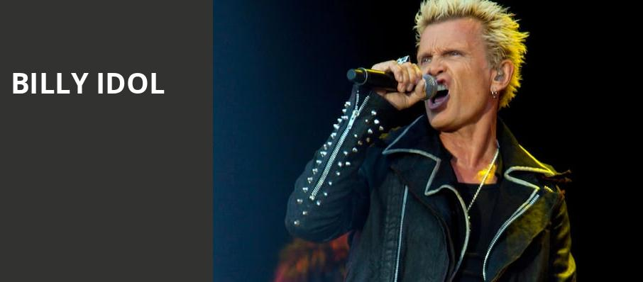 Billy Idol, Woods Amphitheatre, Nashville