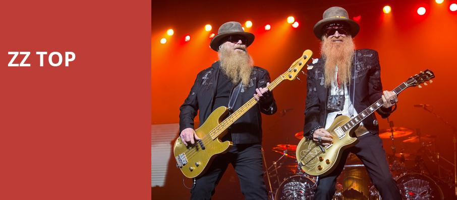 ZZ Top, Ascend Amphitheater, Nashville