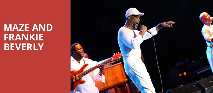 Maze and Frankie Beverly, Bridgestone Arena, Nashville