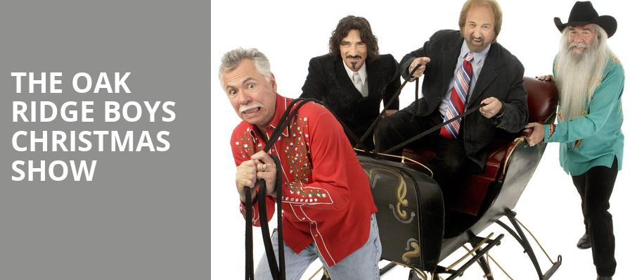 The Oak Ridge Boys Christmas Show, Music City Center, Nashville
