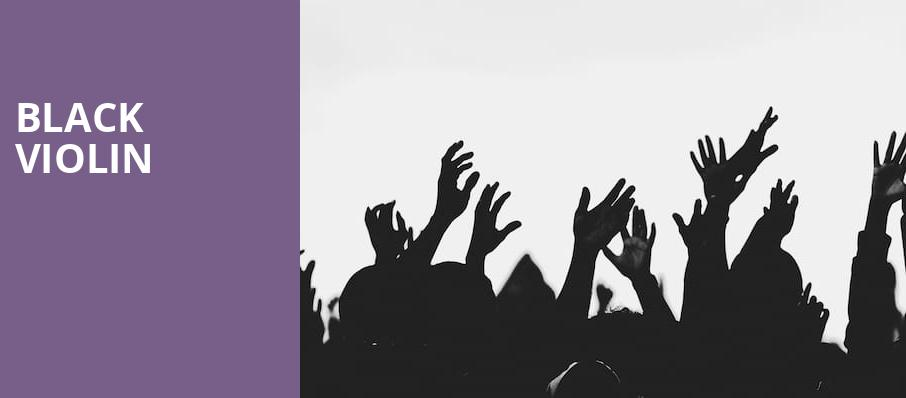Black Violin, War Memorial Auditorium, Nashville