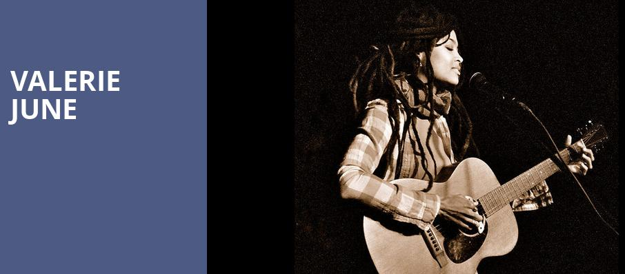 Valerie June, City Winery Nashville, Nashville