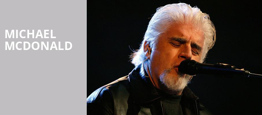 Michael McDonald, Ryman Auditorium, Nashville