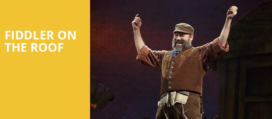 Fiddler on the Roof, Andrew Jackson Hall, Nashville