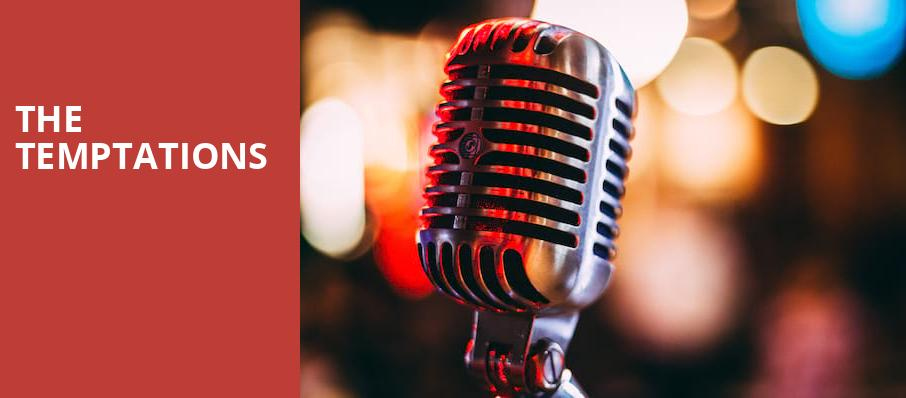 The Temptations, Ryman Auditorium, Nashville