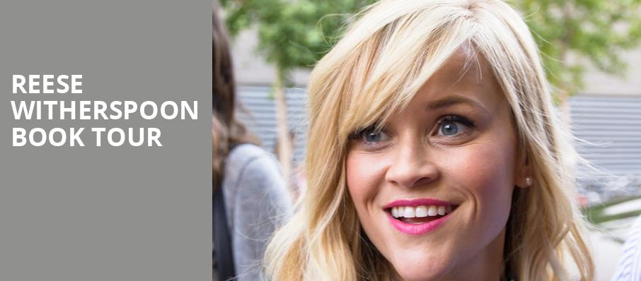 Reese Witherspoon Book Tour, Schermerhorn Symphony Center, Nashville
