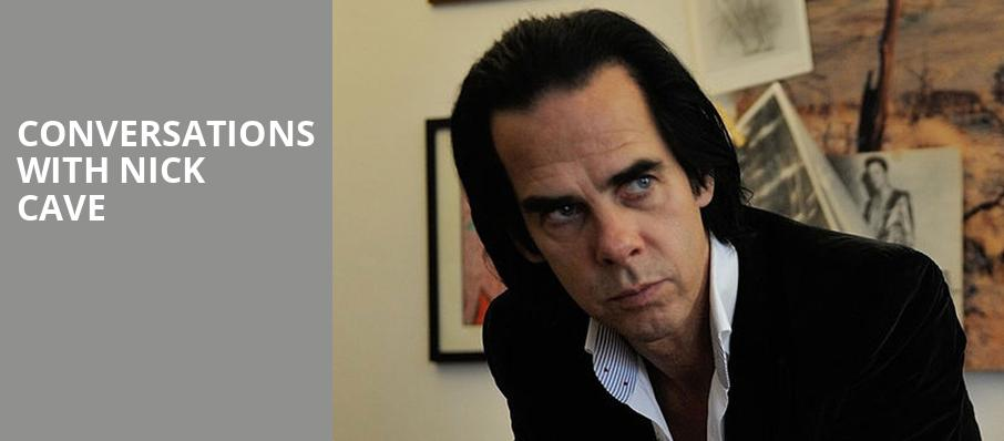 Conversations with Nick Cave, James K Polk Theater, Nashville