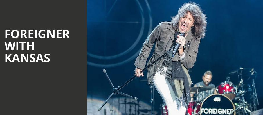Foreigner with Kansas, Ascend Amphitheater, Nashville