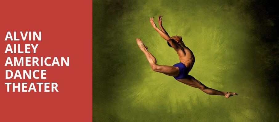 Alvin Ailey American Dance Theater, Andrew Jackson Hall, Nashville