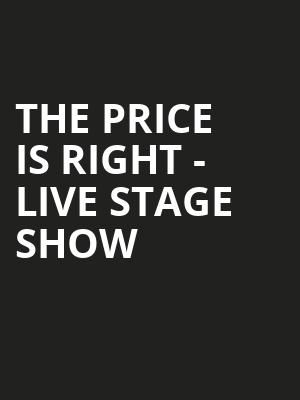 The Price Is Right Live Stage Show, Andrew Jackson Hall, Nashville